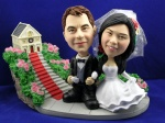 Bobblehead Hand In Hand Wedding Gift